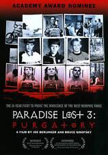 Paradise Lost 3: Purgatory (DVD, 2012) A Film by Joe Berlinger & Bruce Sinofsky