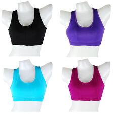 Deporte señora sujetador bustier Sport Wear push up gimnasia yoga fitness jogging 2251