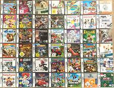 1 SPIEL AUS AUSWAHL WÄHLEN für Nintendo DS + Lite + Dsi + XL + 3DS 2DS