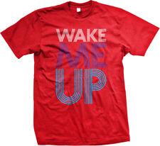 Wake Me Up Song Lyrics Star Over Wiser Finding Myself Lost Aloe Men's T-Shirt