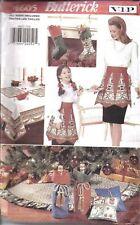 4605 UNCUT Vintage Butterick  SEWING Pattern Christmas Treasures Craft Apron OOP