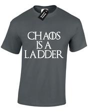 Caos è una scala da Uomo T Shirt gioco di Ditocorto Crusca Thrones Khaleesi S - 5XL