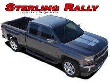 2016-2017 Chevy Silverado Rally 1500 3M Vinyl Hood Racing Stripe Decals Graphic