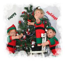 Reborn Doll  Christmas Elf Completely UNPAINTED
