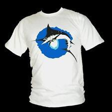 MARLIN NERO CACCIA-Immersioni subacquee/MARLIN Pesca A3 T-shirt da uomo