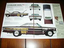 1963 FORD GALAXIE 500XL ***ORIGINAL 2003 ARTICLE***