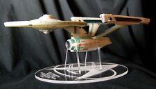acrylic display stand for Diamond Select Star Trek Enterprise 1701 refit variant
