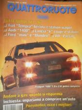 Quattroruote 483 1996 Novità:Ford Mondeo.Inserto Opel Vectra CDX e Fiat Brava