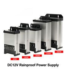 DC12V LED Outdoor Rainproof Power Supply 60W 100W 200W 250W 400W LED Driver