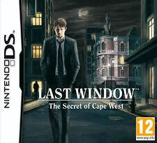 Last Window: The Secret of Cape West (Nintendo DS, 2010)