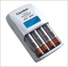 Chargeur intelligent rapide Camelion +écran LCD +prise + allume cigare12V BC-907