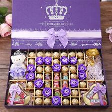 【巧克力礼盒 800g/盒】德芙 创意零食 礼包 糖果生日情人节礼物 送女友女生Valentine's day gifts Delicious中国卖家直邮免运费