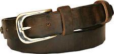 Cintura in cuoio di toro con strass interamente cucita a mano