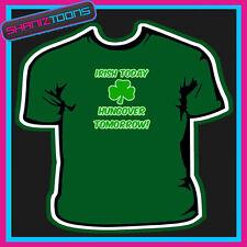 Funny irlandés St Patricks Day Stag lema Camiseta
