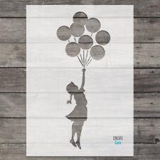 Banksy Girl Balloons STENCIL Wall art stencil Airbrush Painting Graffiti