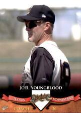 2007 Tucson Sidewinders Multi-Ad #32 Joel Youngblood Hitting Coach Baseball Card