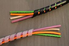 Spiralschlauch cable protección negro (UV) o transparente 10 metros