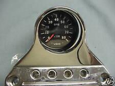 Micro Mini Single Gauge Mount for Speedo Tach 48mm by Yankee Engineuity Harley