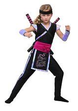 Girl's Rainbow Ninja Costume