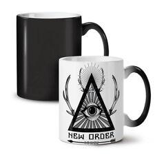 New World Order Crew NEW Colour Changing Tea Coffee Mug 11 oz | Wellcoda