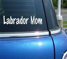 Labrador Mom Retriever Dog Pet Funny Decal Sticker Art Car Wall Decor