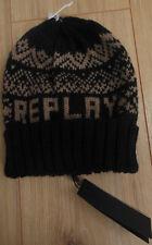 Replay hat kids winter BNWT one size 8-9-10-11-12 y 30% wool