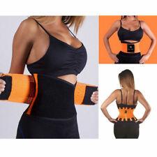 Xtreme Sport Belt Trainer Waist Cincher Body Thermo Trimmer Shaper Black Corset