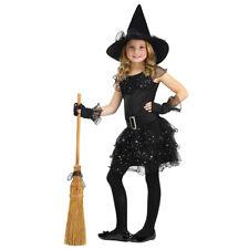 Girls Glitter Witch Halloween Costume