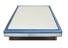 Viscoelastischer Orthopädischer Softside Wasserbetten Viscotopper 2 cm + Bezug