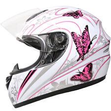 Casque Moto Casque Intégraux Crash Rosa Papillon Leopard