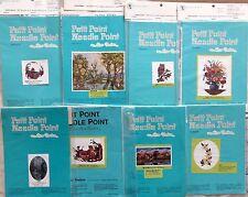 Vintage Alice Godkin Needle Point Petit Point Charts YOU CHOOSE