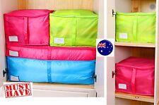 Quilt Light Large foldable Closet Blanket Luggage Organiser Storage Bag Case Box