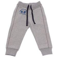 7511W pantalone tuta bimbo LA MARTINA JUNIOR boy grey sweatpant NO LABEL