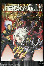 Japan .hack/G.U. Character Fan Book (G.U.and Roots) 2006 Oop