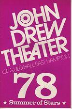"Douglas Fairbanks, Jr. Playbill 1978 ""Out on a Limb"" James Thurber Musical"