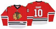 Reebok NHL Youth Girls Chicago Blackhawks Patrick Sharp #10 Jersey, Red