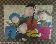 "Graciela  Rodo Boulanger "" La Fenetre "" Original Etching Artwork S/N"