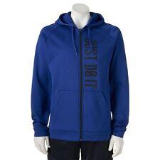Men's Nike Therma Fleece Full-Zip Hoodie Sizes S, M, XXL Deep Royal/Black