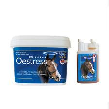 NEW NAF OESTRESS CALMER LIQUID / POWDER HORSE MAGNESIUM MOODY MARE