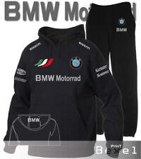TUTA FELPA CON CAPPUCCIO STAMPATA BMW MOTORRAD SPORT TEAM ITALIA COL. N/N