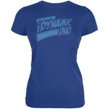 Dynamic Duo Funny Comic Book Royal Juniors Soft T-Shirt