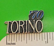 70-71 1970 - 1971 FORD TORINO - hat pin , tie tac , lapel pin , hatpin GIFT BOXD