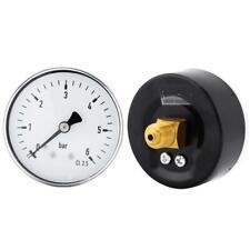 6Bar 10Bar 60mm Manomètre Copteur Pression Pressure Gauge Pr Eau Huile Liquide