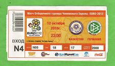Orig.Ticket     EM - Q. 2010   KASACHSTAN - DEUTSCHLAND