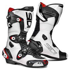Sidi Mag-1 Racing Stivali moto UOMO MICROFIBRA - nero bianco