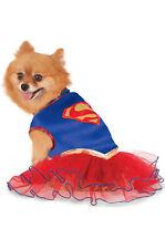 Supergirl Tutu Dress Pet Costume