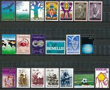 Nederland jaargang 1974 postfris, alleen losse zegels