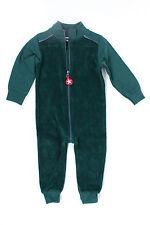 KIK KID Baby Suit Terry Kinder Overall 62-80 Grün Fleece Anzug Herbst/Winter NEU