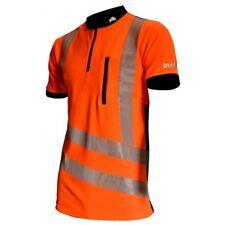 TreeHog THHV2000 Hi Viz Shirt Short Sleeve, Suitable for Stihl & Husqvarna Users