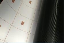 [ 3mdi-noc ] de fibra de carbono Abrigo Negro Vinilo (burbujas Gratis) 3 Metros X 1520mm
